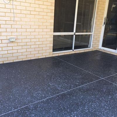 perth honed concrete