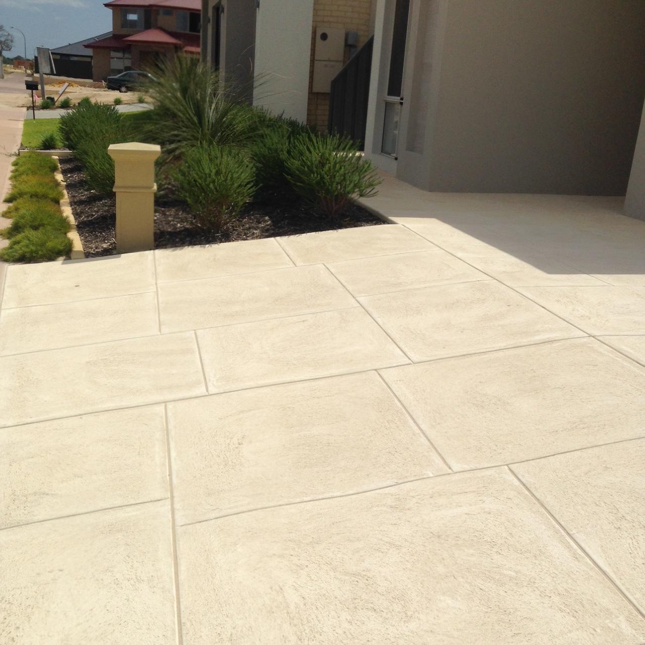 limestone concrete perth