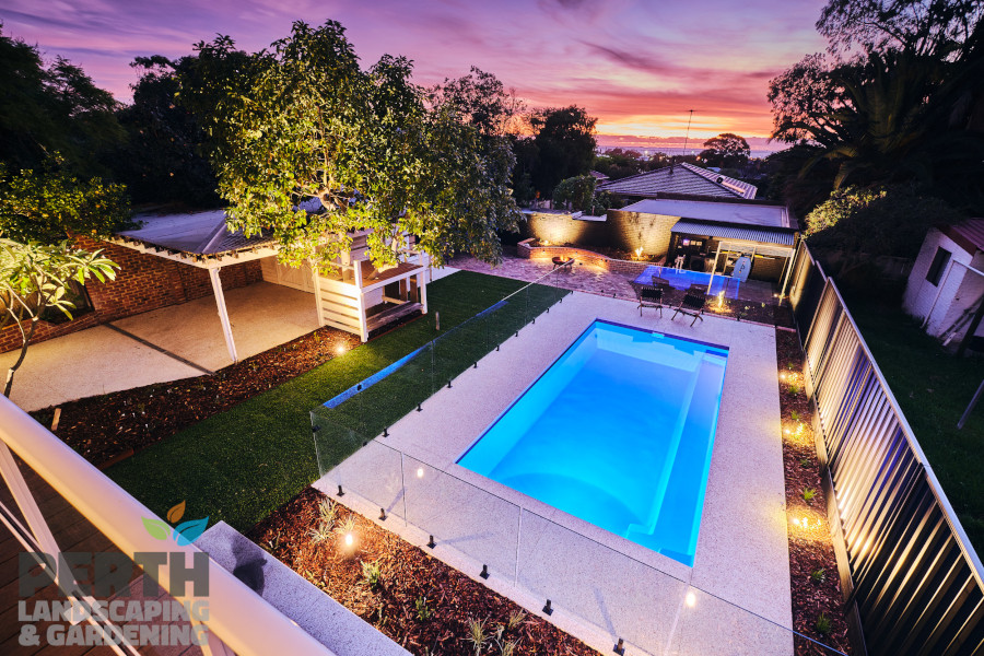 Pool Concrete Flooring